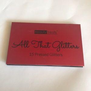 15 pressed glitters make up